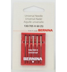 Aguja BERNINA 705H nº60 5 unidades