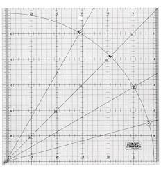 Regla 30x30 cms